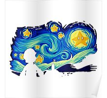 Super Starry Night Poster
