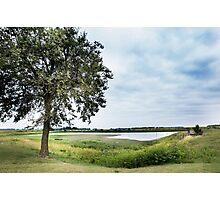 Farm Pond 1, Walnut Ridge, AR Photographic Print