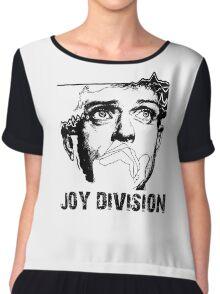 joy division - unknown pleasures Chiffon Top