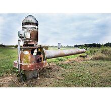 Farm Pond Feeder, Walnut Ridge, AR Photographic Print