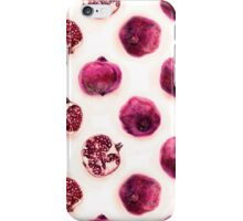 Pink Pomegranate Polka Dots iPhone Case/Skin