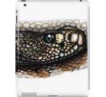 Rattlesnake in color iPad Case/Skin
