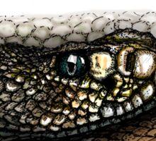 Rattlesnake in color Sticker