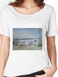 Sennen Cove Fishing Boats Women's Relaxed Fit T-Shirt