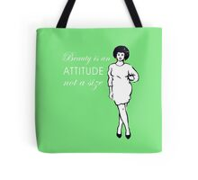 Curvy beauty: gorgeous green Tote Bag