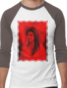 Kourtney Kardashian - Celebrity Men's Baseball ¾ T-Shirt