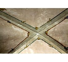 background fresco ceiling Photographic Print