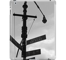 road sign iPad Case/Skin
