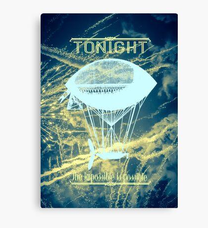 Smashing Pumpkins - Tonight Tonight   Canvas Print