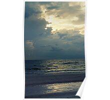 white tropical beach Poster