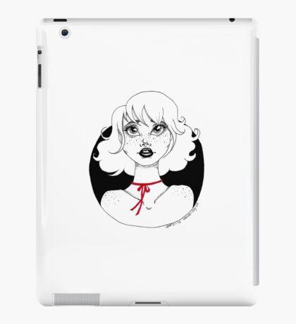 The Red Ribbon- Inktober 2016 iPad Case/Skin
