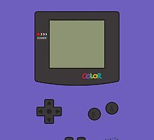 Gameboy color - grape by acid-spit