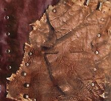 Western Worn Saddle Leather Look by artonall