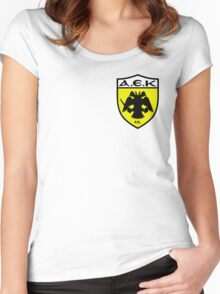 AEK Athens Women's Fitted Scoop T-Shirt