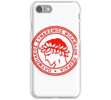 Olympiakos FC iPhone Case/Skin