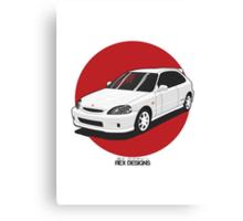 Honda Civic EK Type-R Canvas Print