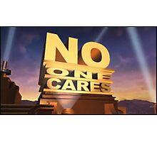 No One Cares  Photographic Print