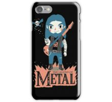 The Legend of Metal iPhone Case/Skin