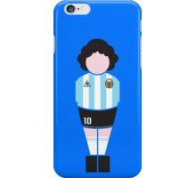 Biliardheroes Maradona T-Shirt iPhone Case/Skin