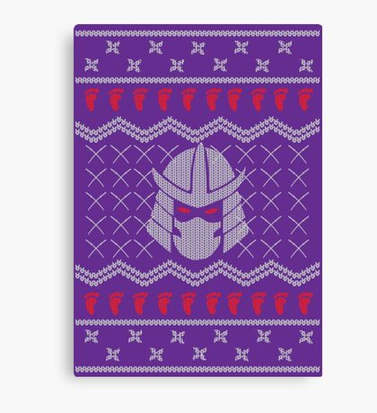 The Foot Clan Canvas Print