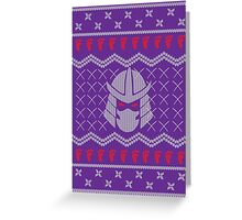 The Foot Clan Greeting Card