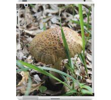 mushroom in the forest iPad Case/Skin