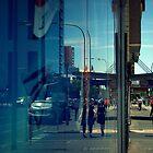 Walking Down Franklin Street by Ben Loveday