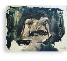Creepy Little Girl Canvas Print
