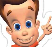 Jimmy Neutron Sticker