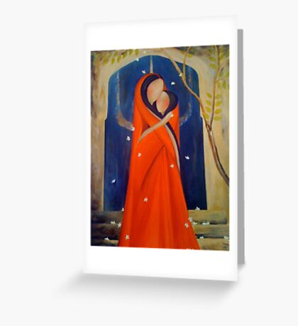 Mehar! Mother and Daughter Greeting Card