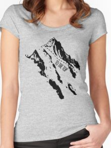 Hiking Women's Fitted Scoop T-Shirt