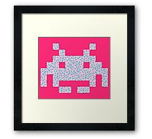 80's Invaders from Space Framed Print