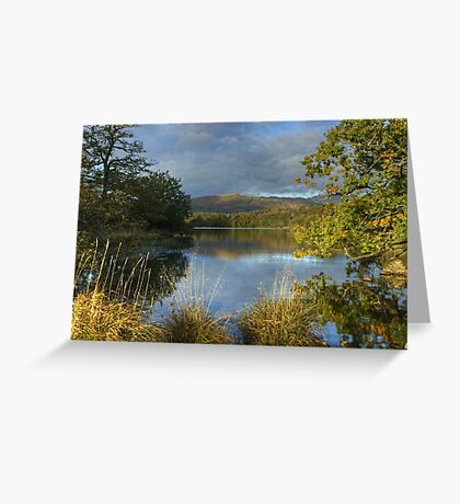 Rydal Water Greeting Card
