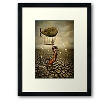 Waterless Starving Framed Print