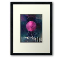 Intergalactic bridges Framed Print