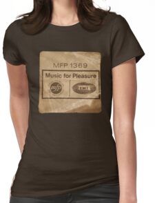 Music For Pleasure Womens Fitted T-Shirt