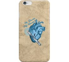 Oh doctor, my doctor iPhone Case/Skin