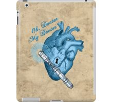 Oh doctor, my doctor iPad Case/Skin