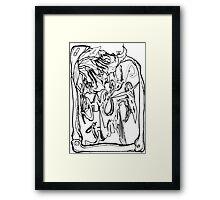 Angels Trumpet Framed Print