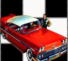 1958 Chevrolet by Mike Pesseackey (crimsontideguy)