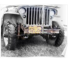 1942 Willys MB  Poster