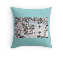 Drone-Fly Throw Pillow