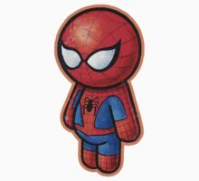"""WEB SLINGER"" DIE CUT POOTERBELLY Kids Clothes"