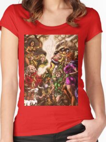 Dungeons & Dragons Women's Fitted Scoop T-Shirt