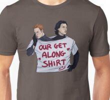Get along, boys Unisex T-Shirt