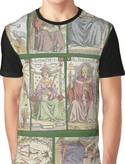 """cover of book with tarot cards (""""Tarot of the Master"""") Graphic T-Shirt"""