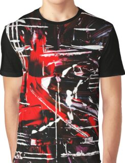 Abstract Night Graphic T-Shirt