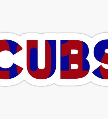 Cubs 2016 World Series Champions Sticker