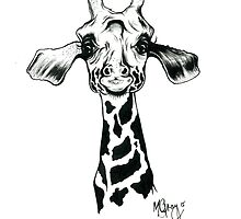 Giraffe  by MikaylaGray