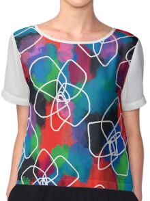 Enjoy Every Color Within You Chiffon Top